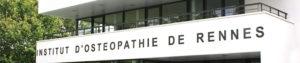 Diplom an der Hochschule Insitut d'Osteopathie de Rennes